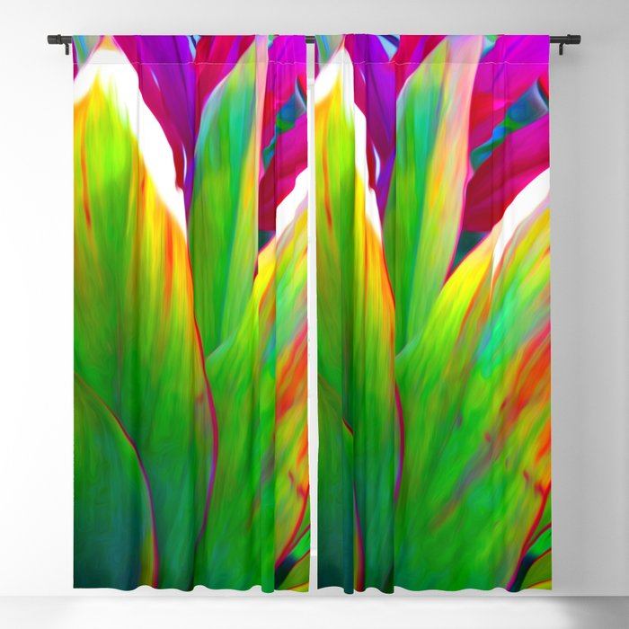 Sacred Ti Leaf Blackout Curtain
