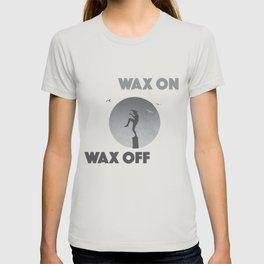 Karate Kid Wax On Wax Off T-shirt