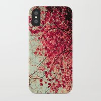 blood iPhone & iPod Cases featuring Autumn Inkblot by Olivia Joy St.Claire - Modern Nature / T