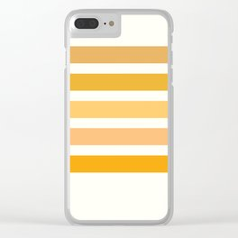 Halloween Colors Art Print Clear iPhone Case