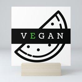 Vegan | Vegan@ Mini Art Print