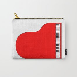 Red Grand Piano Carry-All Pouch