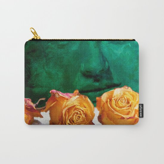 ROSE - quote Carry-All Pouch
