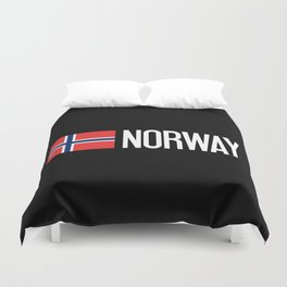 Norway: Norwegian Flag & Norway Duvet Cover
