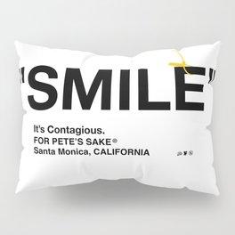 """""""SMILE"""" Pillow Sham"""