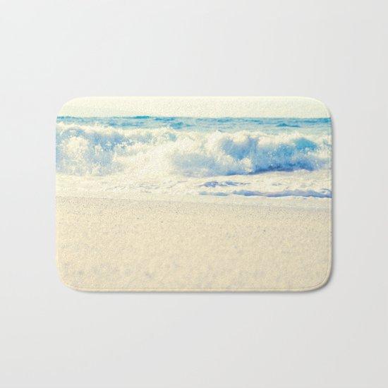 Beach Gold Bath Mat