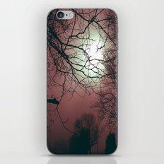 Day Moon iPhone & iPod Skin