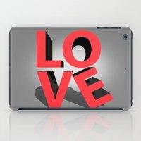 kiss iPad Cases featuring kiss by mark ashkenazi