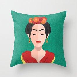 The Joyful Exit (Frida) Throw Pillow
