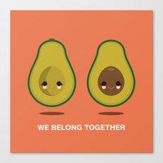 We Belong Together Canvas Print