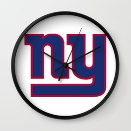 NYG Logo Wall Clock