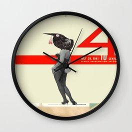 October 4 Wall Clock