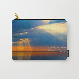 Light Quote Aristotle Onassis Carry-All Pouch