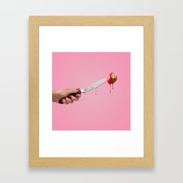 Jab-A-Berry Framed Art Print