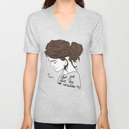 Run You Clever Boy and Remember Unisex V-Neck