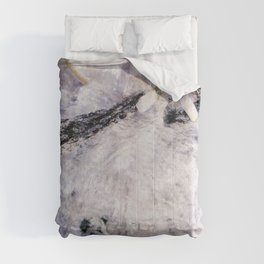 Louis Icart - Hunting - La Traviata, The Fallen Woman - Digital Remastered Edition Comforters