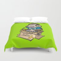 dj Duvet Covers featuring DJ Ape by Leon-Design