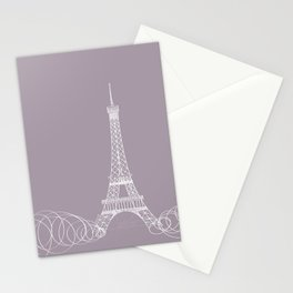Paris by Friztin Stationery Cards