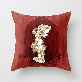 Lavinia Cameo Throw Pillow
