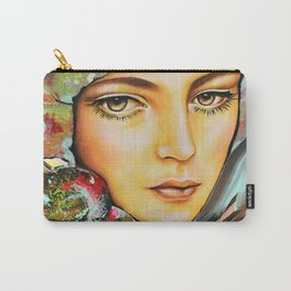Pivoine- Peony by Sonia Laurin Carry-All Pouch