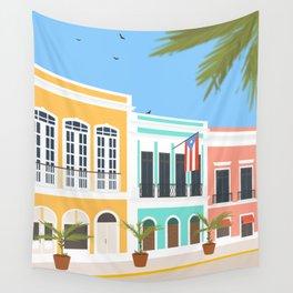 Old San Juan, Puerto Rico Wall Tapestry