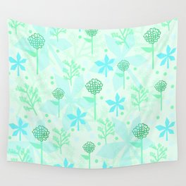 delicate floral pattern Wall Tapestry