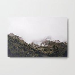 The Mountains / Bavarian Alps Metal Print