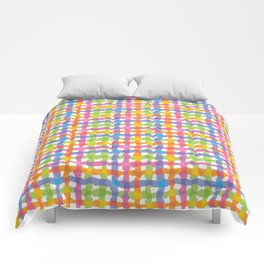 Punchy Plaid Comforters