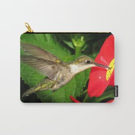 Hovering hummingbird 27 Carry-All Pouch