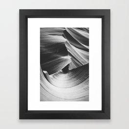 ANTELOPE CANYON IV / Arizona Desert Framed Art Print