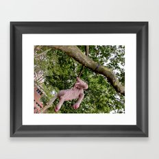 Disillusioned Unicorn Framed Art Print