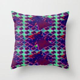 3d-after-christmas-pattern Throw Pillow