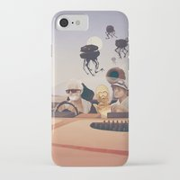 desert iPhone & iPod Cases featuring Fear and Loathing on Tatooine by Anton Marrast