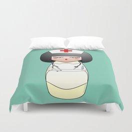 Kokeshi Nurse Duvet Cover