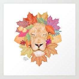 Autumn Leon Art Print