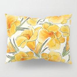 the daylily Pillow Sham