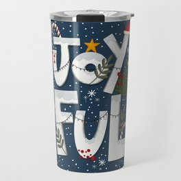 Joyful Holiday Travel Mug
