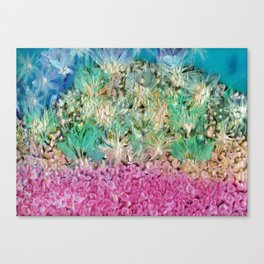 Sea Gouache Canvas Print