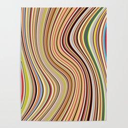 Old Skool Stripes - Flow Poster