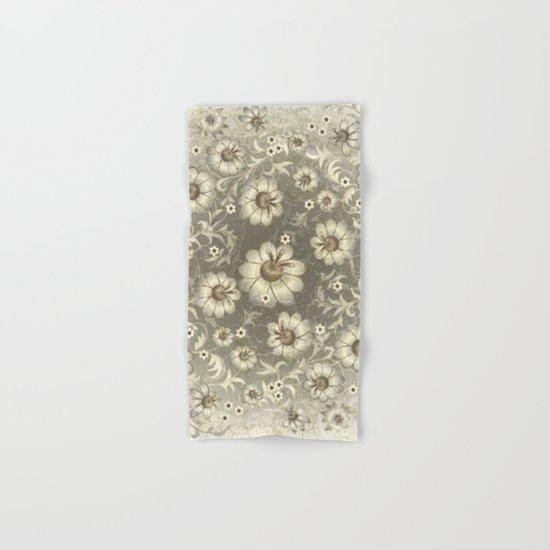 Shabby flowers #12 Hand & Bath Towel