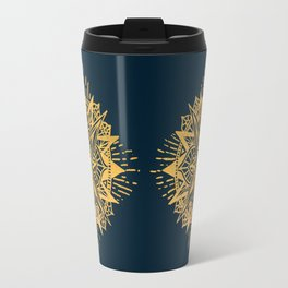 Bright lotus Travel Mug