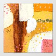 Goldish Canvas Print