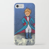 the little prince iPhone & iPod Cases featuring Little Prince by Anais.Lalovi