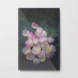 Rose Petals II Metal Print
