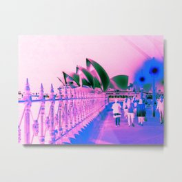Pink Opera Metal Print