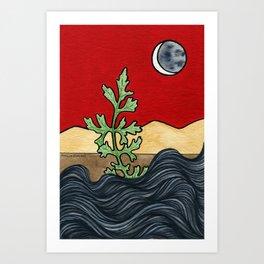 Extinction Day Art Print