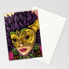 Masquerade Stationery Cards