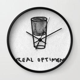 Real optimism Wall Clock
