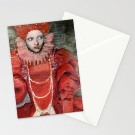Queen Elisabeth/Newspaper Serie Stationery Cards
