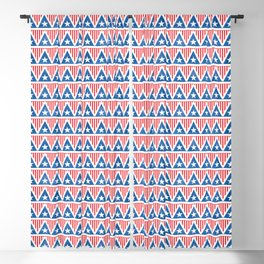 Old Glory Triangles // July 4th Collection Blackout Curtain